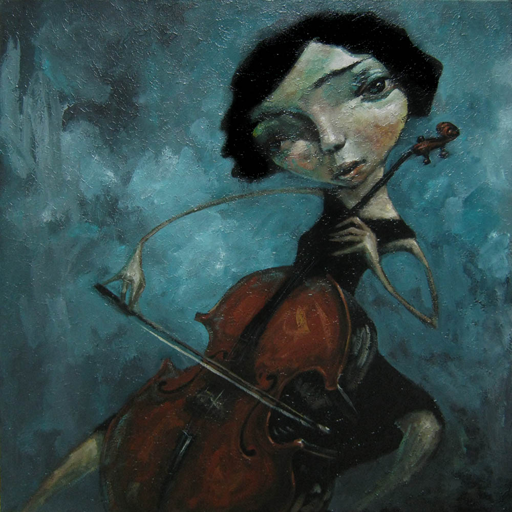 Cello By Tony Giles - SOLD