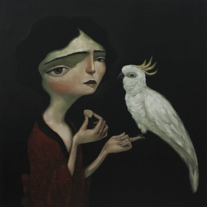 Cockatoo Girl By Tony Giles - SOLD