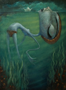 Floating By Tony Giles - SOLD
