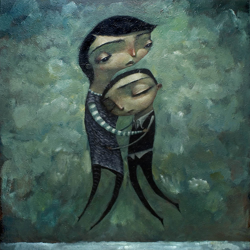 Gentle Embrace By Tony Giles - SOLD