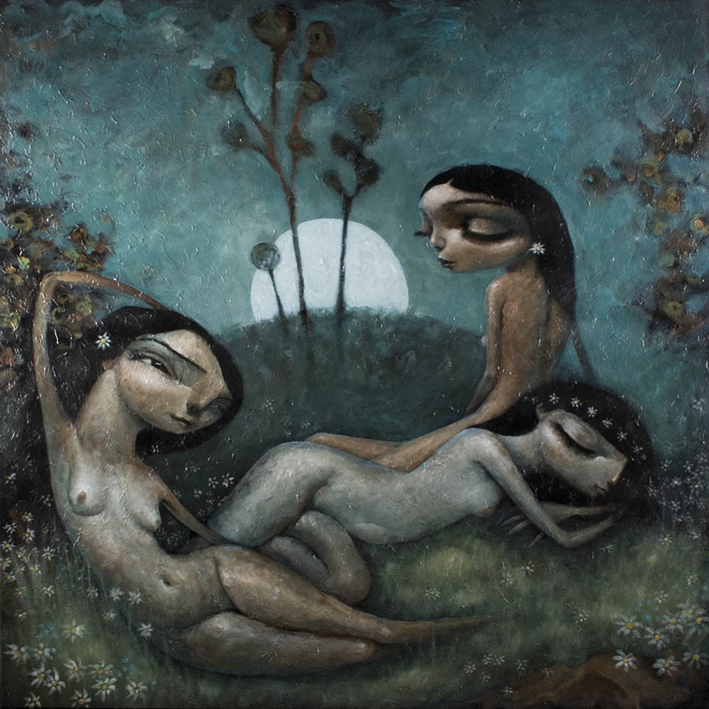 Nymphs By Tony Giles - SOLD