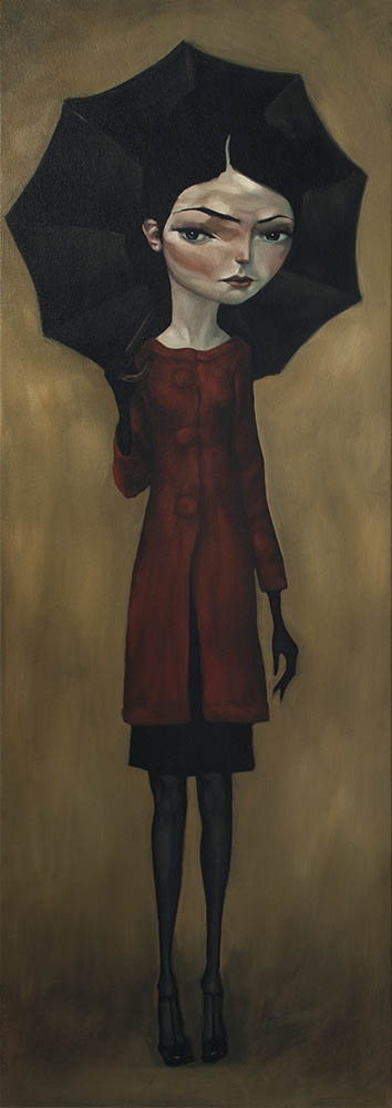 Red Coat By Tony Giles - SOLD