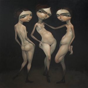 Three Graces By Tony Giles - FINALIST in MANNING ART PRIZE 2015